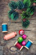 preparation for Christmas - stock photo