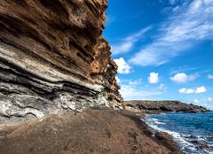 Stock Photo of Montana Amarilla in Costa del Silencio. Tenerife