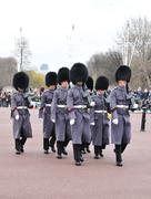 Changing the Guard at Buckingham Palace Stock Photos