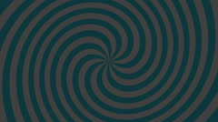 Hypno Spiral Stock Footage