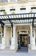 Paris hotel - stock photo