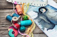 Needlework Stock Photos