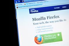 Mozilla Firefox Stock Photos