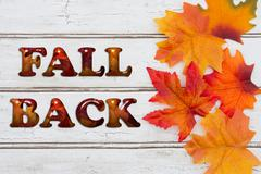 Fall Back Stock Photos