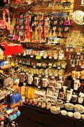 Souvenir shop Stock Photos