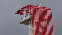 The Tower at Circuit of the Americas, COTA Stock Footage