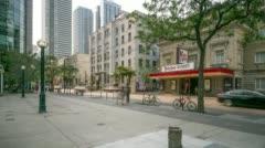 Toronto - King West Music Hall Stock Footage