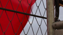 Red Flag - stock footage