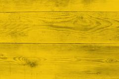 Yellow wood structure as a background texture - stock photo