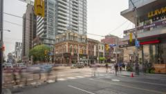Toronto - TIFF Corner 4K Stock Footage