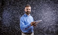 Young school teacher - stock photo