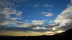Multicolor Sunset -1080 Stock Footage