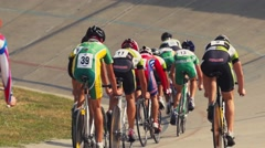 Cycling competition sport,slow motion Stock Footage