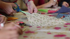 Creativity Lessons For Children 9 Stock Footage