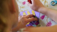 Stock Video Footage of Creativity Lessons For Children 17