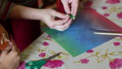 Stock Video Footage of Creativity Lessons For Children