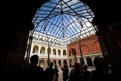 Metropolitan Cultural Center, Quito, Ecuador - stock photo