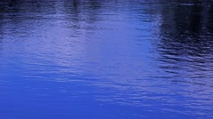 Water ripples on lake - natural motion background Stock Footage