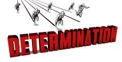 Better Determination Stock Illustration