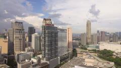 Dramatic Sky over Makati, Metro Manila - Philippines Stock Footage