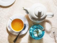 Tea set - stock photo
