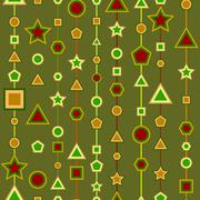 Geometry seamless Stock Illustration
