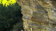 Stock Video Footage of Rocks, mountains and hills forest in Caucasus Panorama