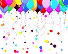 Stock Illustration of balloons