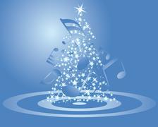 Stock Illustration of christmas card