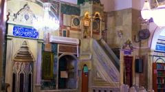Video of Jezzar Pasha Mosque shot in Israel. Stock Footage