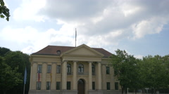 View of Prinz-Carl-Palais in Munich Stock Footage