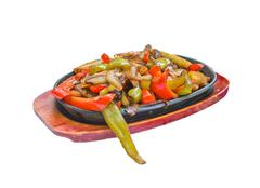 Tex Mex vegetables - stock photo