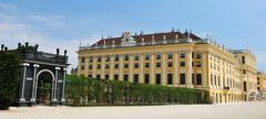 Schonbrunn, Vienna - stock photo