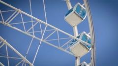 Finnair Sky Wheel attraction in Helsinki - stock footage