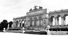 Gloriette at Schonbrunn, Vienna (Austria) - stock photo
