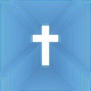 Abstract christian cross Stock Photos