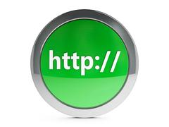 Stock Photo of Http icon with highlight