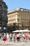 Vienna - historical centre - stock photo