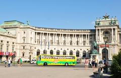 Vienna sightseeing Stock Photos
