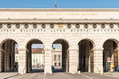 Hofburg Palace Gate In Vienna Stock Photos