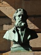 Bronze statue - stock photo