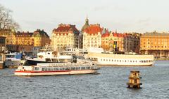 Stockholm sightseeing - stock photo