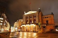 National Theater, Oslo - stock photo