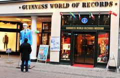 Guinness World of Records Museum Kuvituskuvat