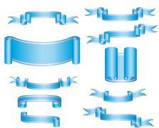 tapes set - stock illustration