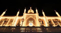 Oriental palace - stock photo