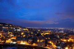 City at dawn Tivoli, Italy Stock Photos