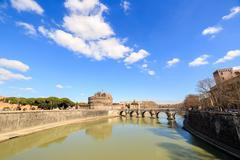 Castle of San Angelo, Rome, Italy - stock photo