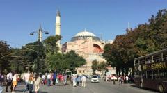 Hagia Sophia Istanbul  6 Stock Footage