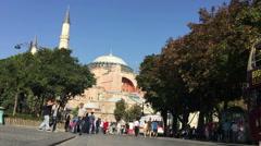 Hagia Sophia Istanbul  7 Stock Footage